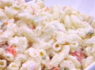 Ro's Macaroni and Smoked Ham Salad Recipe