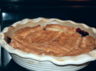 Jo Ann's Cranberry/blueberry cobbler Recipe