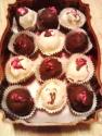 Strawberry Cheesecake Balls Chocolate Dipped