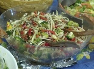 Quinoa Raw Root Vegetable Salad Recipe