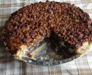 Chocolate Pecan Cheesecake Pie Recipe