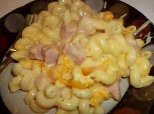 Creamy Ham -  N -  Macaroni Recipe