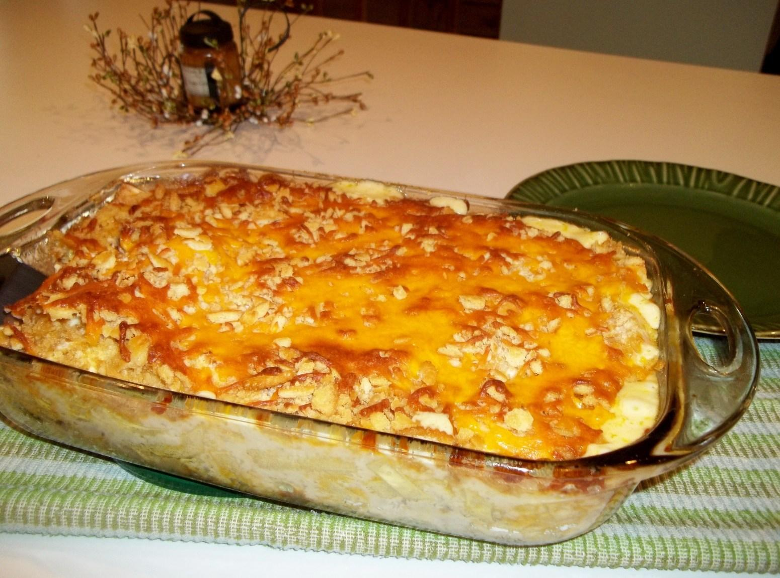 Chicken Noodle Casserole - Cassie's Recipe