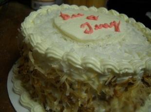 6 Inch Southern Coconut Cake Recipe