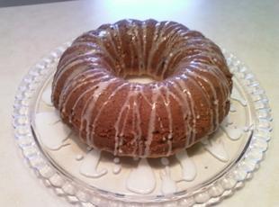 Leftover candy bundt cake Recipe