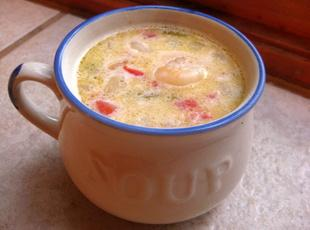 Yummy Corn and Shrimp Soup Recipe