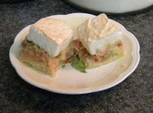 Grandma's Rhubarb Bars Recipe