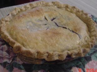 Just a big ole fat blueberry pie Recipe