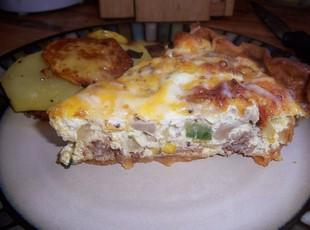 Country Sausage Quiche