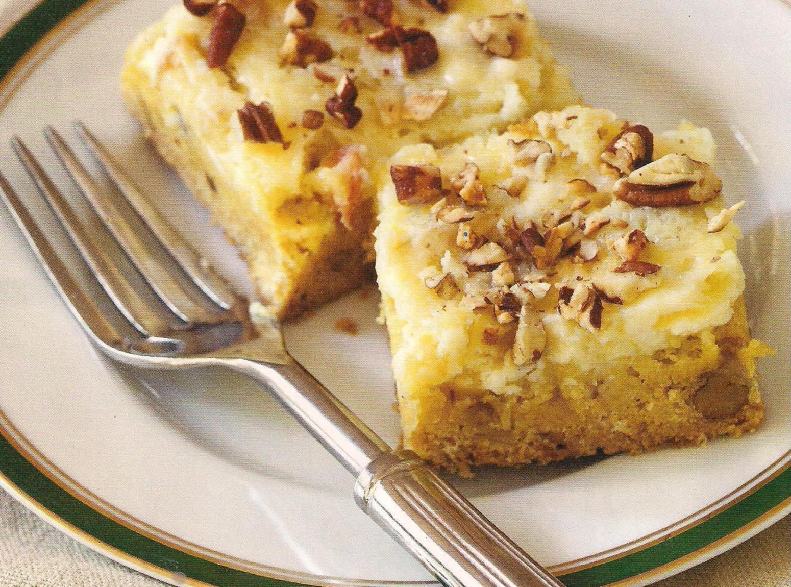 Apple pecan cream cheese bars Recipe