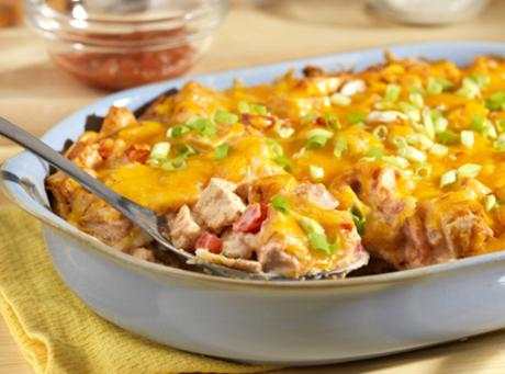 Campbell's Kitchen: King Ranch Casserole Recipe | Just A Pinch Recipes