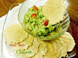 Stupid Simple Guacamole Recipe