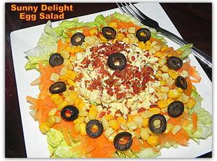Sunny Delight Egg Salad Recipe