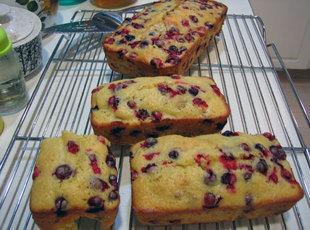 Cranberry-Orange Walnut Bread