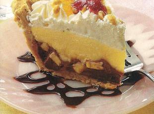 banana split cream pie Recipe