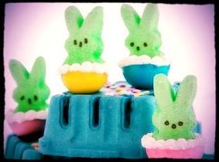 Easter Adult Peep's-Stuffed Jell-O Shots Recipe