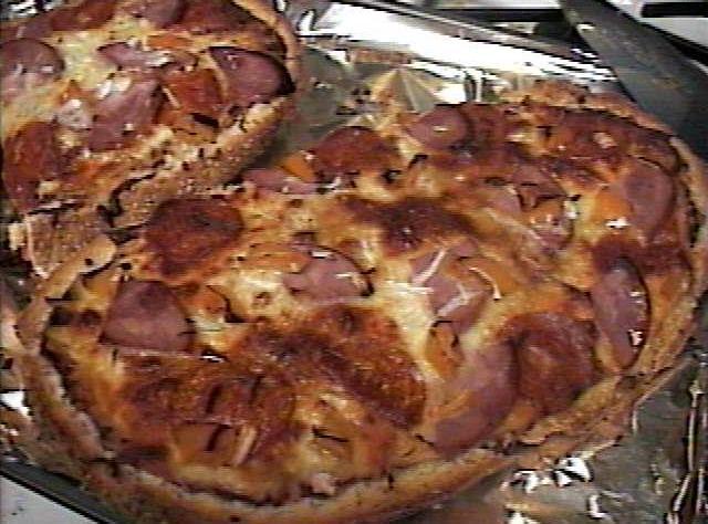 Homemade Pizza (Italian Bread Pizza) Recipe