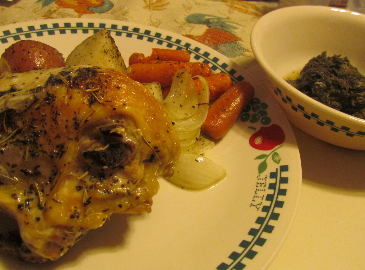 Herb Roasted Chicken and Vegetables by Rose Recipe | Just ...