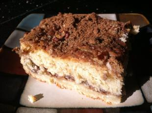 Mom's Sour Cream Coffee Cake Recipe