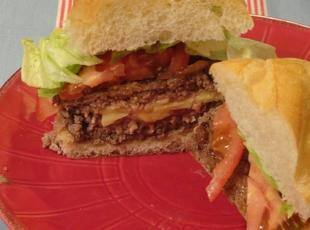 Irish Cheddar Juicy Lucy (St Patricks Day) Recipe