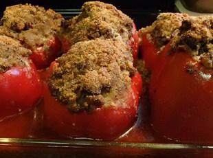 Kenny's Stuffed Peppers Recipe
