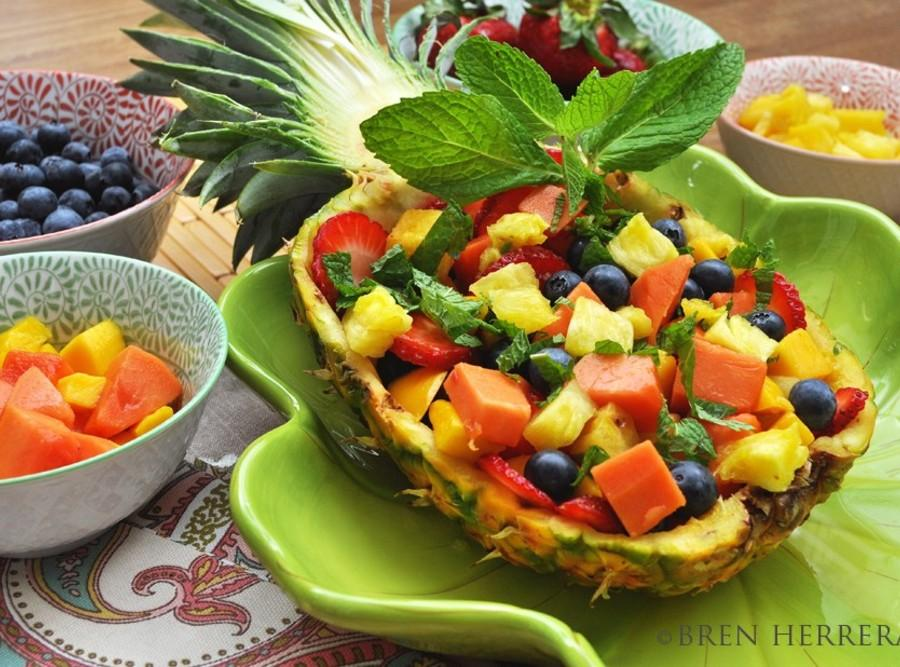 Tropical Fruit Salad Recipe 2 | Just A Pinch Recipes