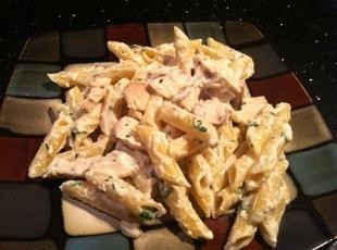 CHICKEN ALFREDO PASTA Recipe