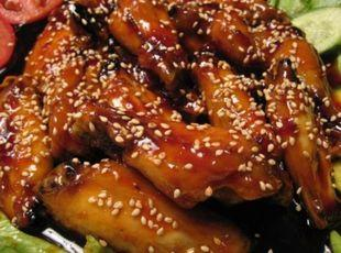 BBQ SESAME CHICKEN WINGS Recipe