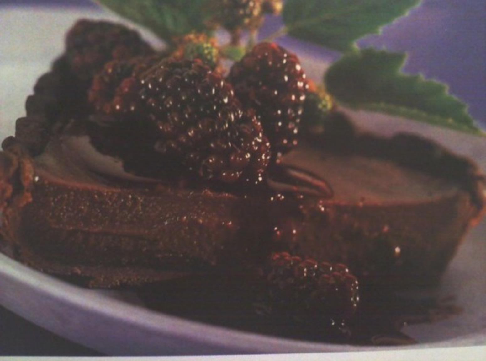 Blackberry Chocolate Tart Recipe