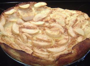 Apfelpfannkuchen (German Apple Pancake) Recipe