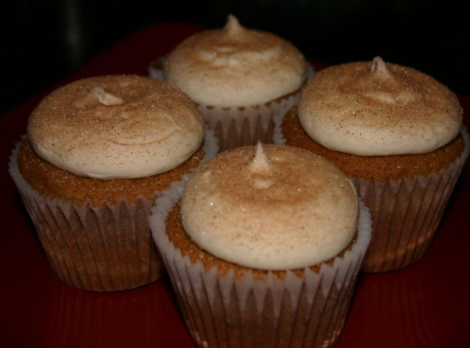 Snickerdoodle Cupcakes with Cream Cheese Frosting Recipe