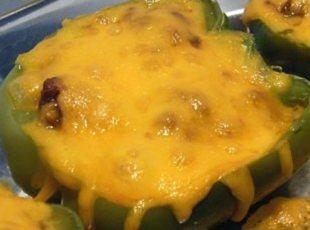 Ground Beef Stuffed Peppers Recipe