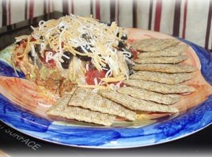 Game Day 7 Layer Taco Dip Recipe