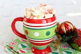 Marshmallow Peppermint Popcorn Recipe