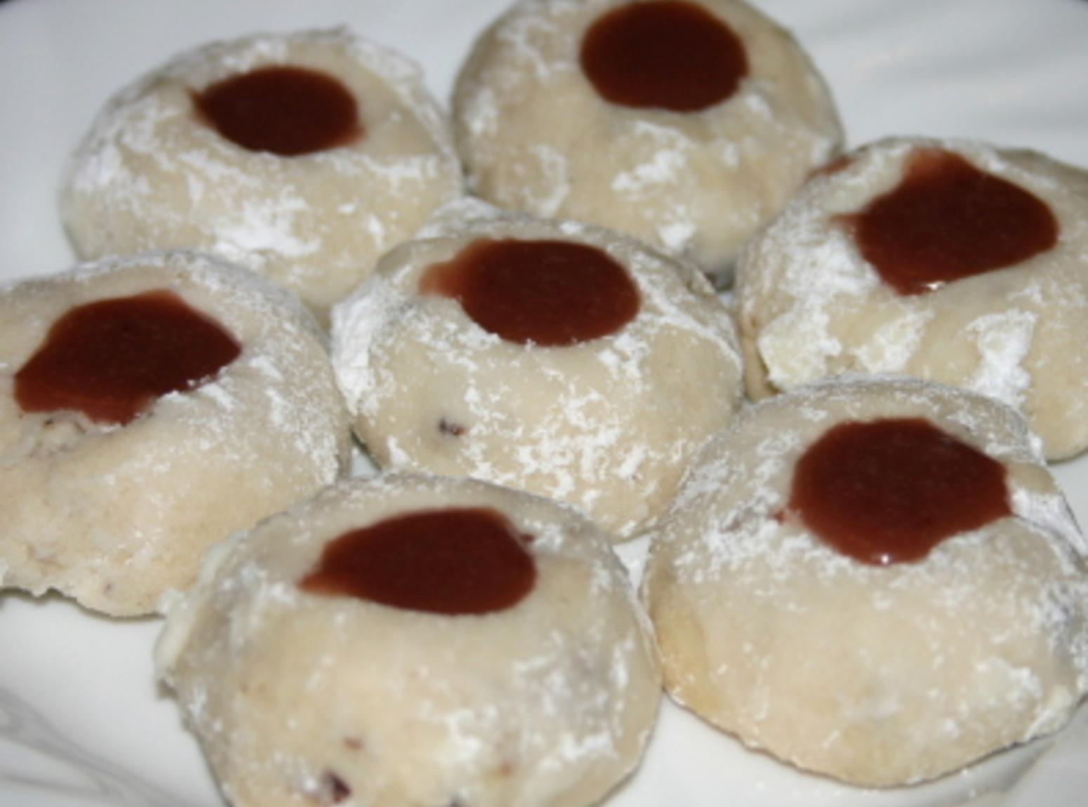 Raspberry Caramel Pecan Sandies Recipe