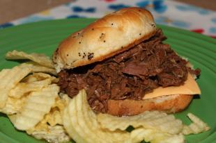 Cheryl's Hot Beefs Recipe
