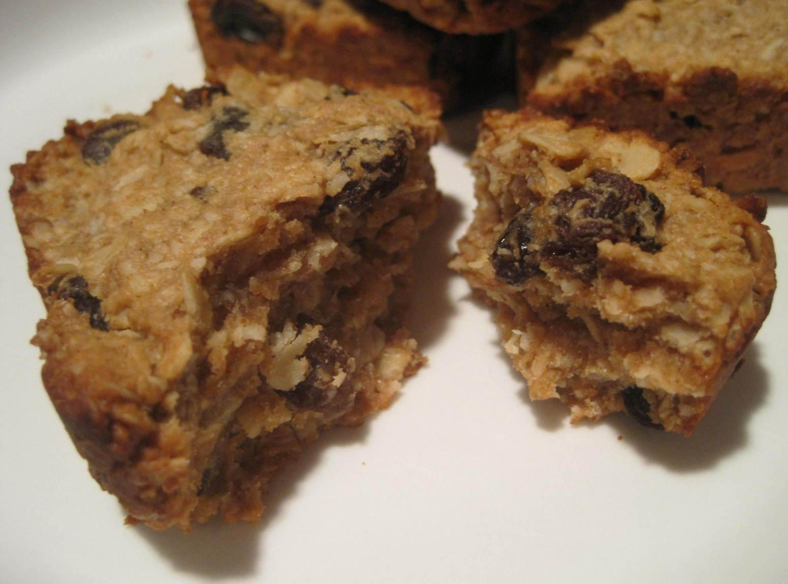 Crunchy Chewy Peanut Butter Granola Bars Recipe Just A