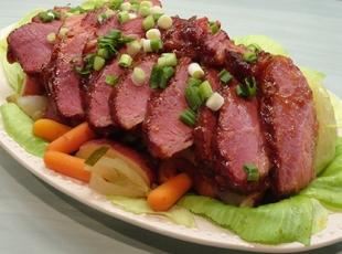 Glazed Corned Beef & Cabbage N  Irish Stout Beer Recipe