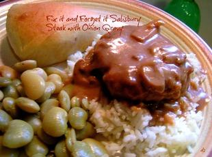 Fix It and Forget It Salisbury Steak w/Onion Gravy Recipe