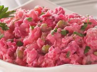 Can't Beet this Potato Salad
