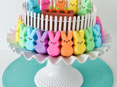 PEEPS Bunny Patch Cake Recipe