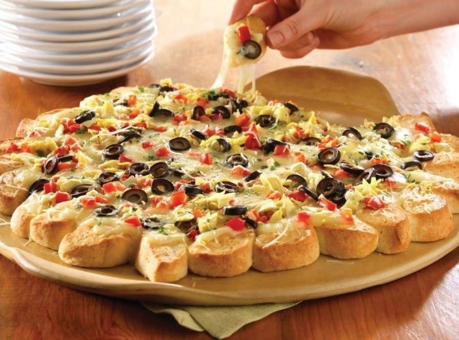 Pullapart Pizza Recipe Just A Pinch Recipes