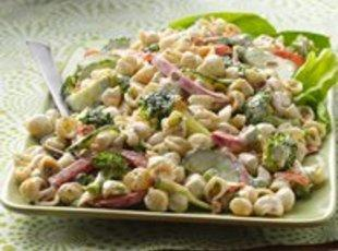 Garden Ranch Pasta Salad Recipe