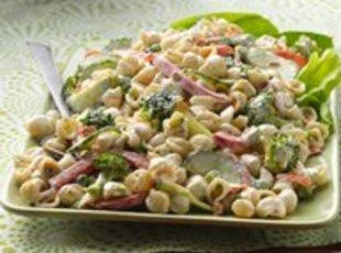 Garden Ranch Pasta Salad Recipe