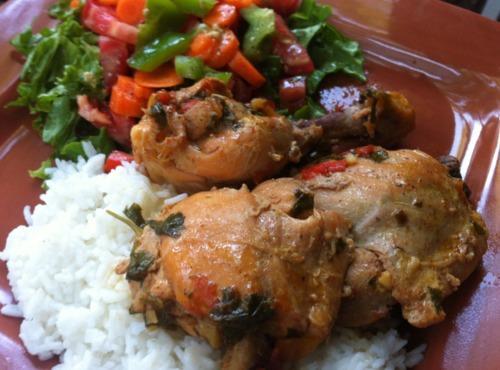 sofrito chicken stew Recipe | Just A Pinch Recipes