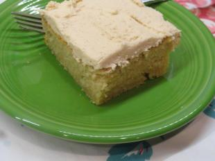 Easy Peanut Butter Cake & Peanut Butter Frosting Recipe