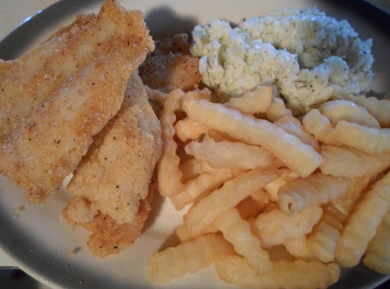 FRIED CATFISH WITH TATOES Recipe | Just A Pinch Recipes