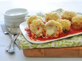 Mini Chicken Parmesan Meatloaf Cupcakes Recipe
