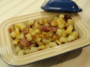 Rosemary-Blue Cheese Potatoes