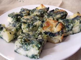 Spinach Cheese Bars Recipe